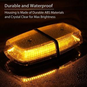Bara rampa girofare cu LED-uri 12v/24v lumina PORTOCALIE