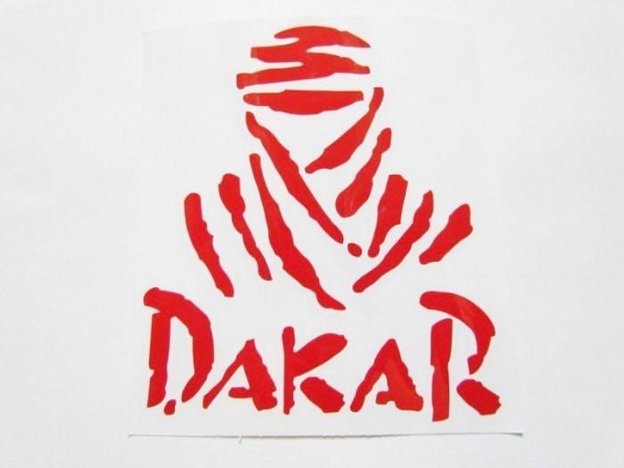 """Abtibild DZ-58R """"DAKAR"""" ROSU"""