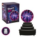 Jucarie interactiva Glob cu plasma Keycraft, 10 ani+