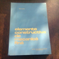 MECANISME DE MECANICA FINA - TRAIAN DEMIAN