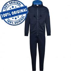 Trening Diadora Hooded FZ Core Cotton pentru barbati - trening original - bumbac, M, Albastru