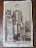 FOTOGRAFIE VECHE - CDV - ATELIER FOTOGRAFIC BOTAR TURDA - INCEPUT 1900