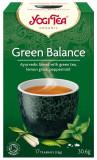 Ceai Bio ECHILIBRU VERDE, 30.6g Yogi Tea
