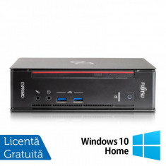 Calculator Fujitsu Esprimo Q556 USFF, Intel Core i5-6400T 2.20GHz, 8GB DDR4, 120GB SSD + Windows 10 Home
