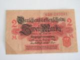 MDBS - BANCNOTA FOARTE VECHE - GERMANIA - 2 MARCI - 1914