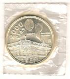 SV * Spania   2000  PESETAS  1994  ARGINT * Sediul FMI si BANCA MONDIALA     UNC