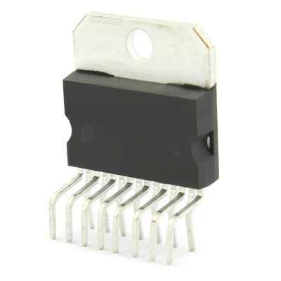 Circuit integrat amplificator audio, MULTIWATT11, STMicroelectronics, TDA7265, T135357 foto