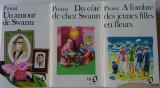 Proust: A l'ombre des jeunes filles; Du cote de chez Swann; Un amour de Swann