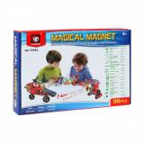 Set de constructie Magical Magnet, 98 piese