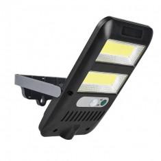 Mini Proiector cu 2 benzi LED cu panou solar senzor de miscare si senzor de lumina JX226
