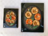 Cumpara ieftin Doua plachete din ceramica JIE GANTOFTA SWEDEN designer AIMO Nietosvouri