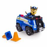 Masina de politie cu figurina Patrula Catelusilor Chase, Spin Master