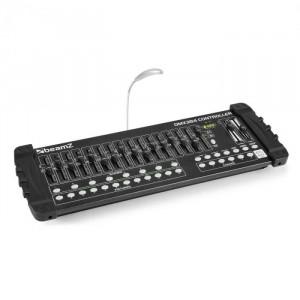 Beamz DMX384, Controller DMX, consolă de iluminat, 384 CANALE, MIDI, USB