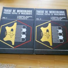 I. IONESCU-MUSCEL--TRATAT DE MERCEOLOGIE - PROD. TEXTILE SI INCALTAMINTE-2 VOL.