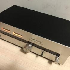 Tuner Analog Scott 510TL FM/AM Statie Radio Receiver Stereo Vintage