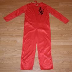Costum carnaval serbare ninja pentru copii de 4-5 ani, Din imagine