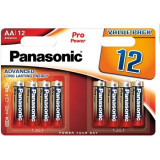 Baterii Panasonic Pro Power Alkaline LR6/AA 12 bucati