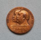 Medalie 1933 ziarul Universul Stelian Popescu - Luigi Cazzavillan