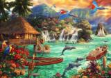 Puzzle Bluebird - Chuck Pinson: Island Life 2.000 piese (70052)