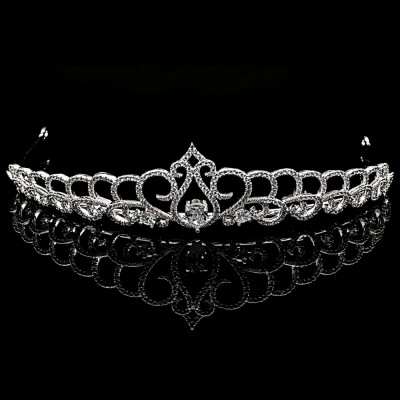 Tiara placata cu Aur 18K si Diamante, Cleopatra foto