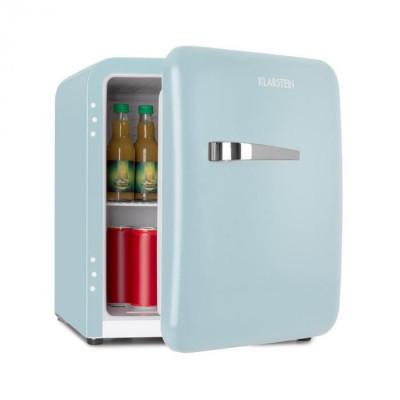 Klarstein Audrey Mini, frigider retro, 48 l, 2 niveluri, A+, albastru foto