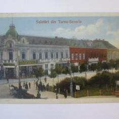 Rara! Turnu Severin-Magazine:Parfumerie,crema,jucarii copii,carte postala 1919