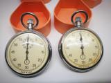 Cronometru rusesc vechi. In cutiuta originala. 2 Bucati !