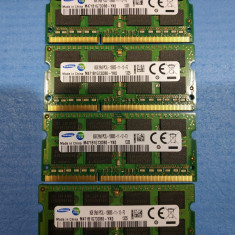 Memorii RAM DDR3 kit 32GB 4 x 8GB SAMSUNG 2RX8 PC3L 12800 la 1600Mhz laptop