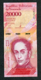 Venezuela 20000 bolivares 13 decembrie 2017 necirculata