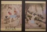 Carte Postala   2 buc necirculate  Arta erotica chinezeasca   Kepek 355.20023.01, Necirculata, Printata