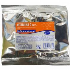 Cumpara ieftin Vitamina C 99.5% 10g pentru caini, pisici, cabaline, suine, ovine, caprine, bovine si pasari, Pasteur
