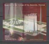 Armenia.2007 40 ani Monumentul victimelor genocidului Erevan-Bl. SA.742, Nestampilat