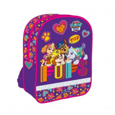 Ghiozdan Pups Patrol gradinita, 1 compartiment, imprimeu multicolor, Starpak