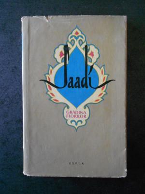 SAADI - GRADINA FLORILOR (1959) foto