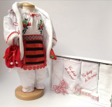 Cumpara ieftin Set Traditional Botez Fetita - Costumas + Trusou 2