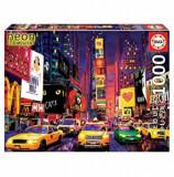 Cumpara ieftin Puzzle Neon Time Square, New York, 1000 piese, Educa