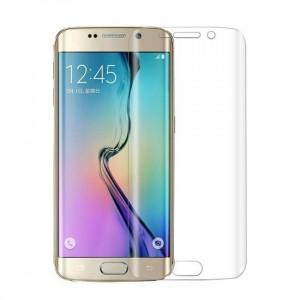 Set SAMSUNG Galaxy S6 Edge - Folie Full Cover + Husa Silicon MERCURY