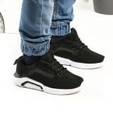 Cumpara ieftin Pantofi Sport De Copii Trendy Negru cu Alb 35 Negru