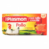 Piure Plasmon din carne de pui, 2 x 80 g