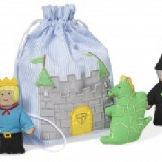 Set Joaca marionete pentru degete Castelul