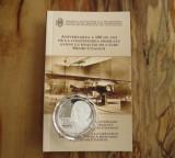 BNR 10 Lei 2010 Proof, Henri Coanda, Primul avion cu reactie - Argint