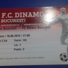 Bilet       Dinamo   -   Steaua
