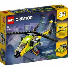 LEGO Creator 3 in 1, Aventura cu elicopterul 31092