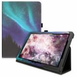Husa pentru Huawei MediaPad T5, Piele ecologica, Multicolor, 46111.12