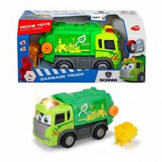 Jucarie Masina de gunoi care merge singura Scania 3816001 Dickie