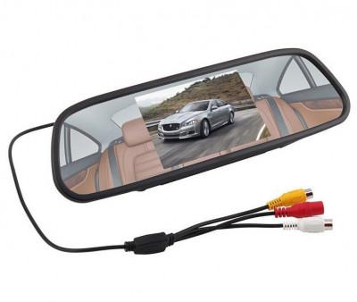 """Display auto LCD 5"""" D706-C pe oglinda retrovizoare foto"""