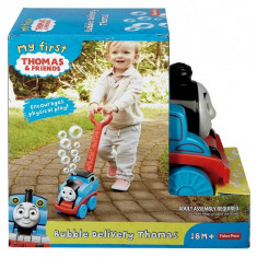 Locomotiva Fisher-Price Thomas si baloane de sapun