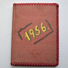 Caiet cu amintiri, dedicatii - Oracol: Probabil Cluj, 1956