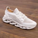 Pantofi sport albi barbati MDL00373