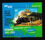 Romania 1983 - ORIENT EXPRESS- MNH